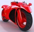 Motorcycle Ferrari Concept - 02